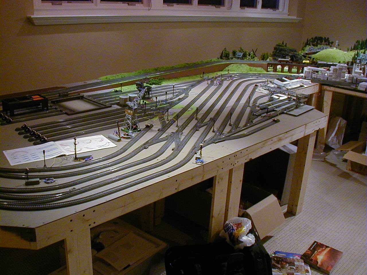 Mini Things For Ho Train Layout Wiring Diagrams Trackwork There Are A Lot Of Different Products On The Market That One Can Use However Only Requirement I Have When Building Is To